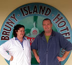 Brendan Lowry and Trish Kearney, Bruny Island